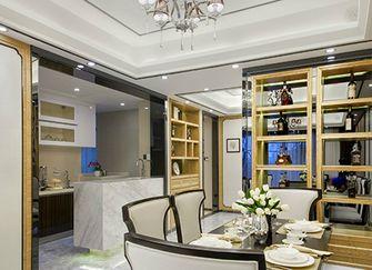 豪华型140平米四室两厅现代简约风格餐厅图