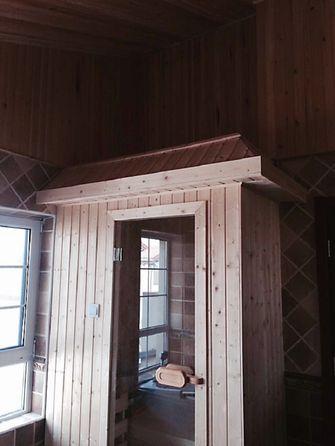 140平米别墅混搭风格卫生间图片大全