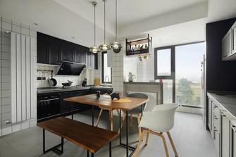 140平米四室一厅混搭风格厨房装修效果图