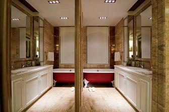 20万以上140平米复式欧式风格卫生间图片