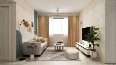 80平米轻奢风格卧室图片