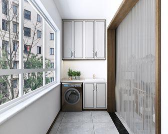 120平米三室三厅中式风格阳台图片