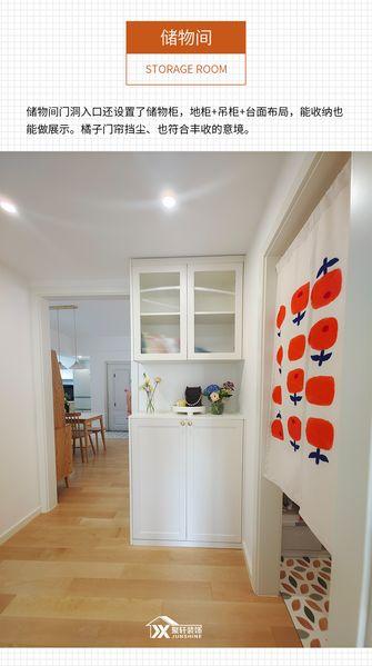 60平米日式风格储藏室效果图