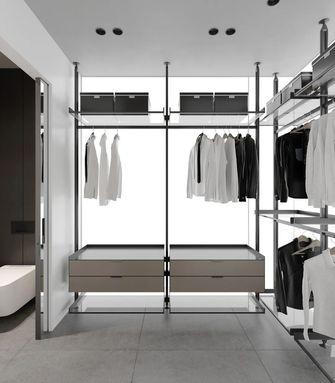 豪华型140平米复式现代简约风格衣帽间效果图