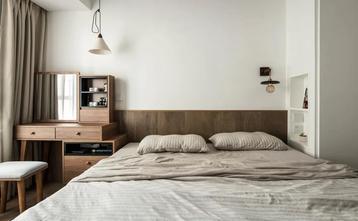 5-10万80平米三室两厅日式风格卧室装修案例