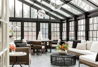 富裕型美式风格客厅装修图片大全