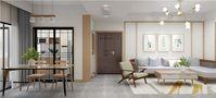 富裕型110平米四室两厅北欧风格餐厅装修图片大全