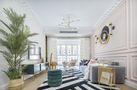 富裕型110平米三室一厅法式风格客厅图片