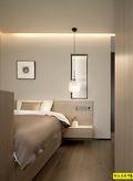 富裕型140平米四室两厅现代简约风格卧室图