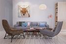 经济型50平米一室一厅北欧风格客厅装修效果图