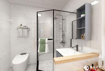 5-10万90平米三室两厅北欧风格卫生间图