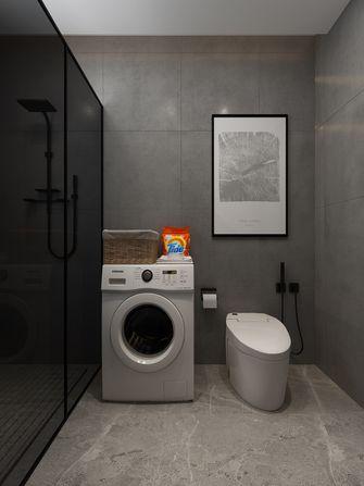 130平米现代简约风格卫生间图片