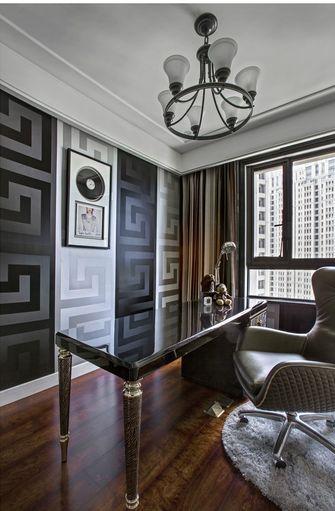 豪华型110平米三室一厅欧式风格书房装修效果图