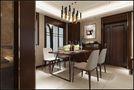 10-15万110平米三室一厅中式风格餐厅装修图片大全