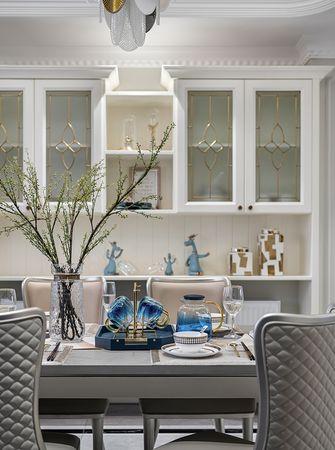 20万以上140平米四室两厅美式风格餐厅设计图
