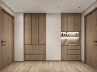 140平米三室两厅现代简约风格储藏室欣赏图