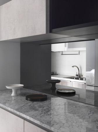 10-15万90平米一室两厅现代简约风格厨房效果图