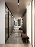 140平米三法式风格走廊设计图