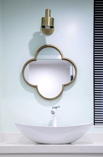 富裕型100平米三室两厅北欧风格卫生间设计图