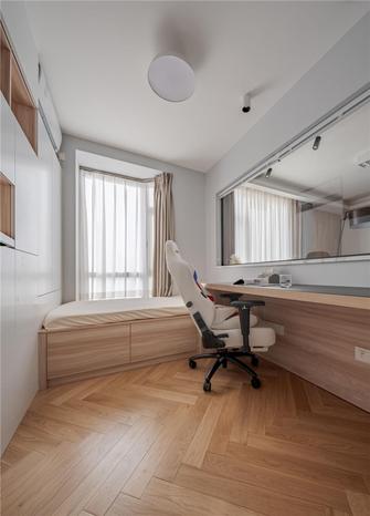 经济型110平米三室两厅日式风格书房效果图