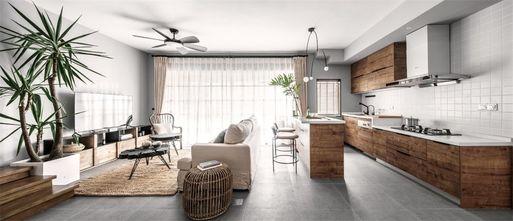 15-20万100平米三室一厅现代简约风格厨房图