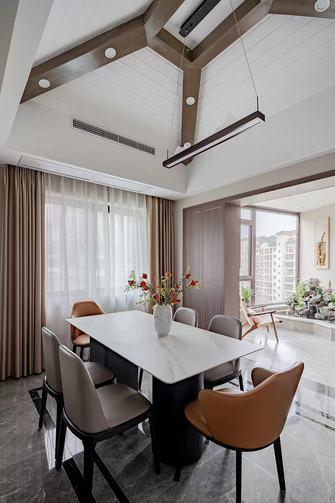 140平米四室一厅中式风格餐厅图片大全