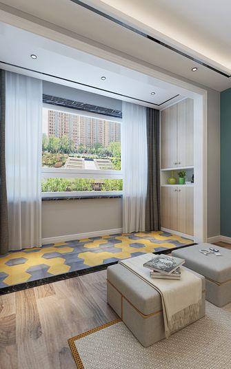 80平米三室两厅北欧风格阳台图片