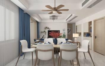 130平米四中式风格餐厅欣赏图