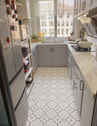 5-10万80平米北欧风格厨房装修效果图