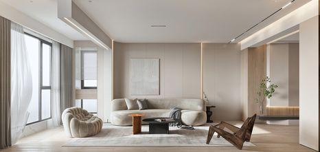 20万以上100平米三室两厅现代简约风格客厅效果图