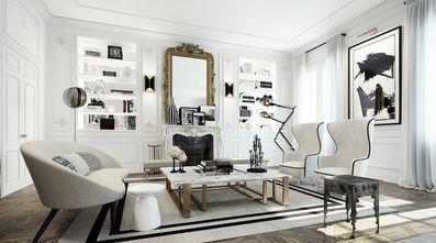 三新古典风格客厅设计图