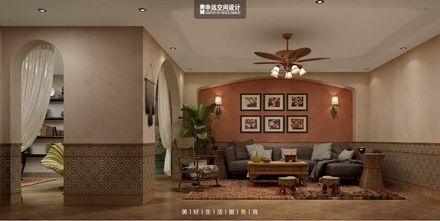 豪华型140平米别墅混搭风格影音室图