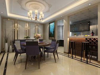 豪华型140平米四室四厅轻奢风格餐厅图片