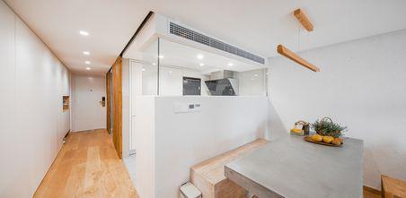 80平米复式日式风格餐厅欣赏图