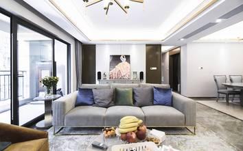 10-15万90平米混搭风格客厅设计图
