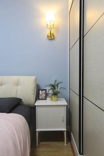 经济型一室一厅北欧风格卧室欣赏图