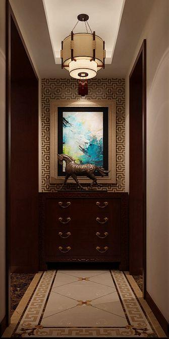 130平米三室一厅中式风格走廊设计图