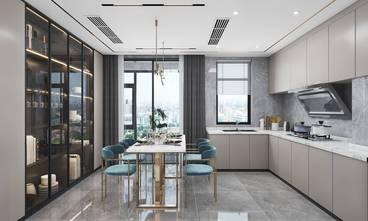 140平米四室两厅轻奢风格餐厅设计图
