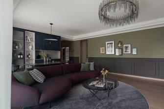 3万以下130平米三室两厅混搭风格客厅装修案例