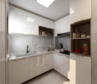 80平米轻奢风格厨房装修图片大全