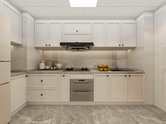 3-5万70平米一居室现代简约风格厨房图片大全