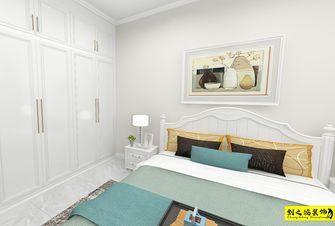 富裕型130平米三室两厅美式风格卧室图