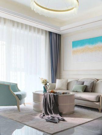经济型三室两厅现代简约风格客厅图