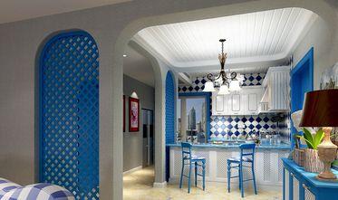 140平米三室两厅地中海风格餐厅装修效果图