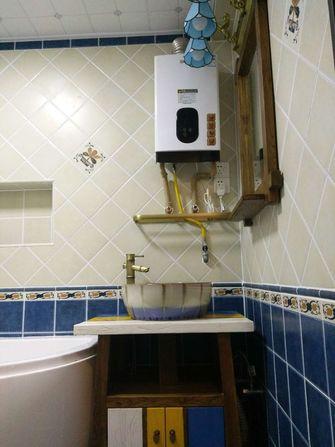 60平米地中海风格卫生间装修案例