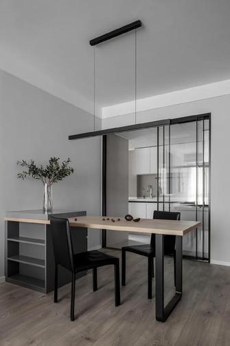经济型80平米三室一厅工业风风格餐厅图片