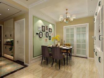 富裕型120平米三室两厅欧式风格餐厅图