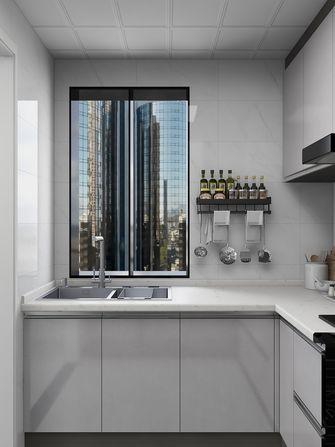100平米公寓现代简约风格厨房图