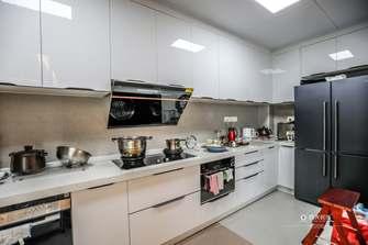 豪华型140平米四美式风格厨房设计图