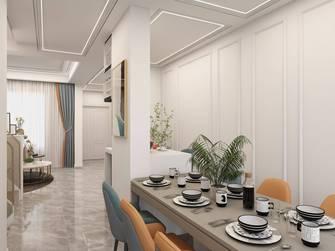 豪华型140平米三室两厅美式风格餐厅图